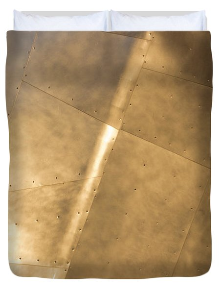 Metal Duvet Cover by Heidi Smith