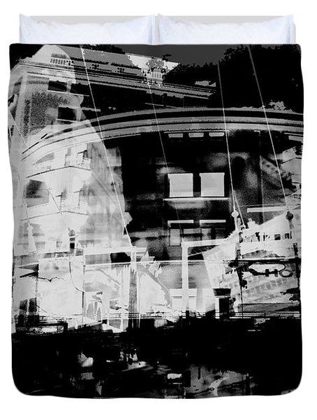 Metropolis Nacht Duvet Cover