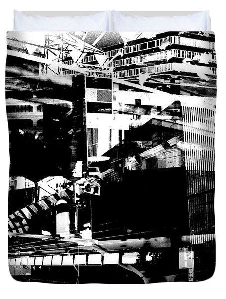 Metropolis Zurich 1 Duvet Cover