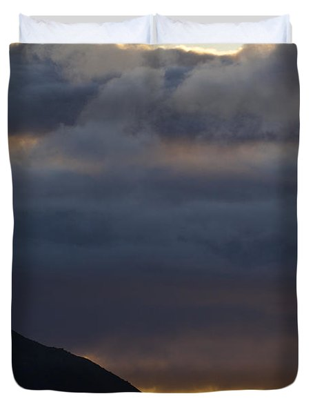 Mid-summer Night Blues Duvet Cover by Heiko Koehrer-Wagner