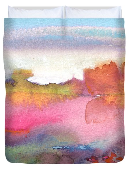 Midday 25 Duvet Cover by Miki De Goodaboom