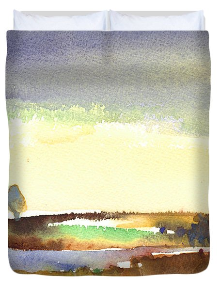 Midday 27 Duvet Cover by Miki De Goodaboom