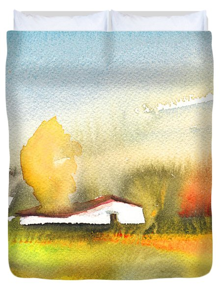 Midday 28 Duvet Cover by Miki De Goodaboom