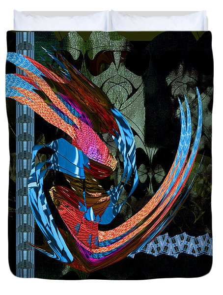 Midnight In The Garden Of Good And Evil Duvet Cover