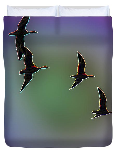Migration Duvet Cover