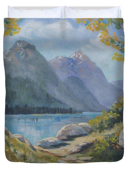 Mills Lake Duvet Cover