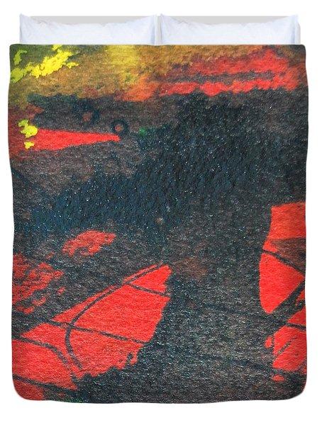 Mindscape 4 Duvet Cover by Ana Maria Edulescu