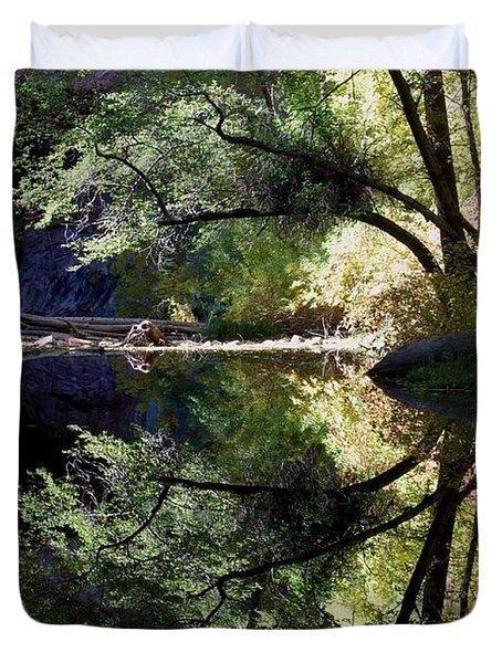 Mirror Reflection Duvet Cover