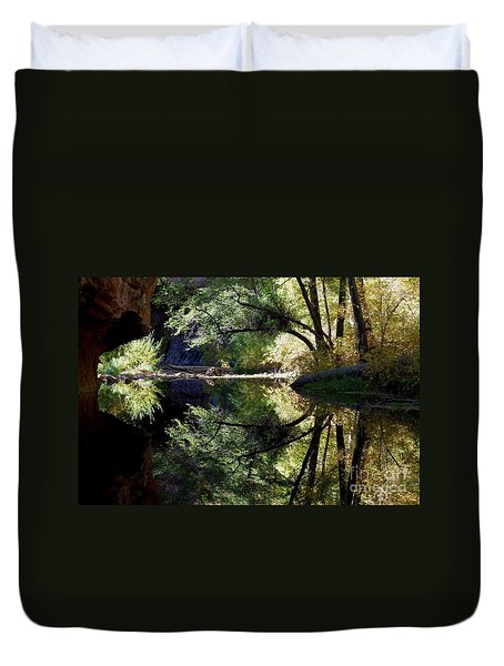 Mirror Reflection Duvet Cover
