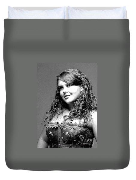 Miss Rachel Duvet Cover by Kathleen Struckle