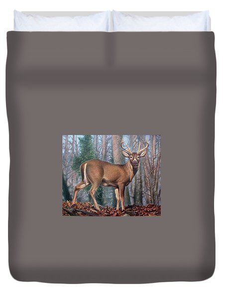 Missouri Whitetail Deer Duvet Cover