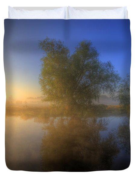 Misty Dawn 1.0 Duvet Cover by Yhun Suarez