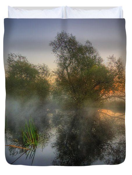 Misty Dawn 2.0 Duvet Cover by Yhun Suarez