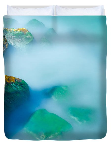 Misty Water Duvet Cover