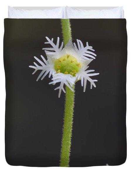 Miterwort Flowers Duvet Cover