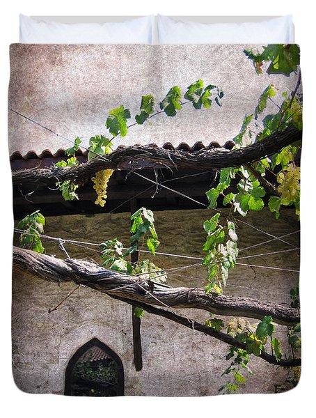 Monastery Garden Duvet Cover
