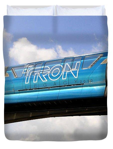 Mono Tron Duvet Cover by David Lee Thompson