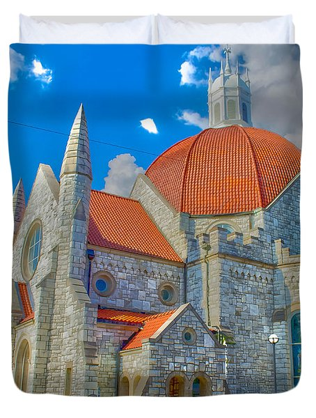 Montgomery Baptist Church Hdr Duvet Cover