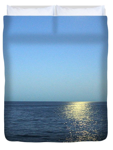 Moon And Water Duvet Cover