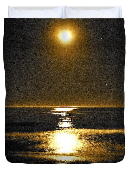 Moon Dust Duvet Cover