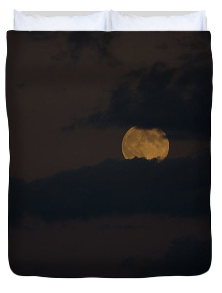 Moon Rising 04 Duvet Cover by Thomas Woolworth