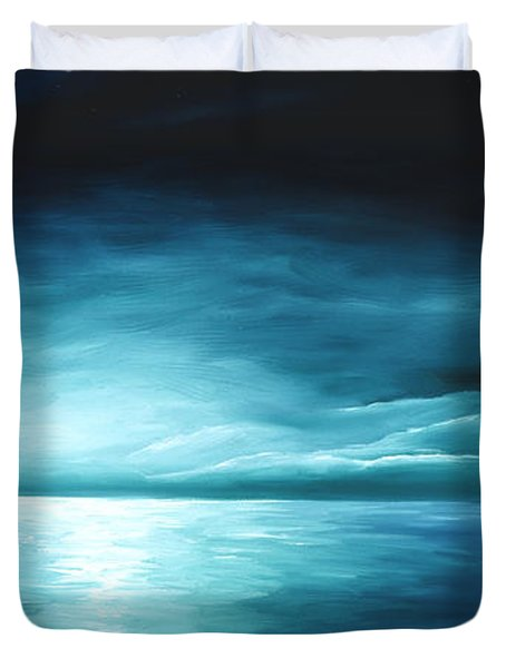 Moonrise II Duvet Cover by James Christopher Hill