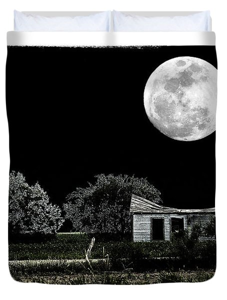 Moon's Light Duvet Cover by Travis Burgess