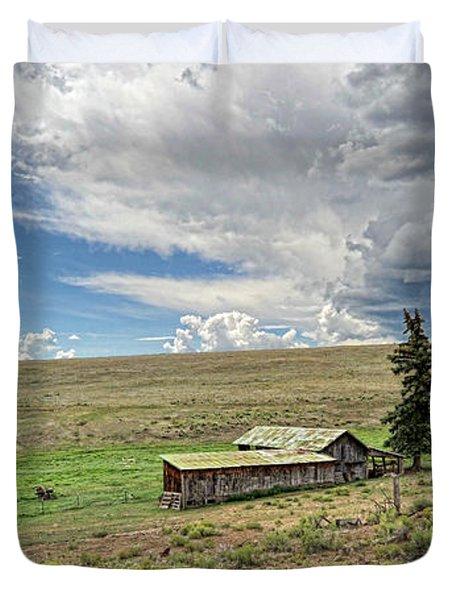 Moreno Valley Ranch Duvet Cover