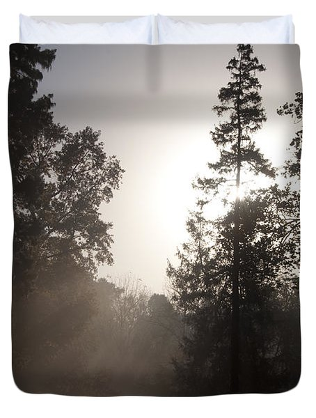 Morning At Valley Forge Duvet Cover by Bill Cannon