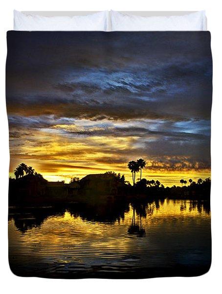 Morning Glow  Duvet Cover by Saija  Lehtonen