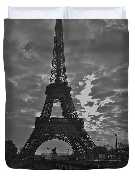 Duvet Cover featuring the photograph Morning Light  by Eric Tressler