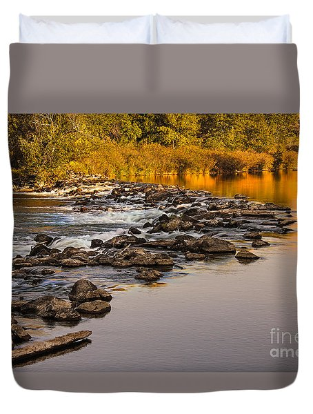 Morning Reflections Duvet Cover by Robert Bales