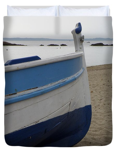Morning Seascape Duvet Cover by Lainie Wrightson