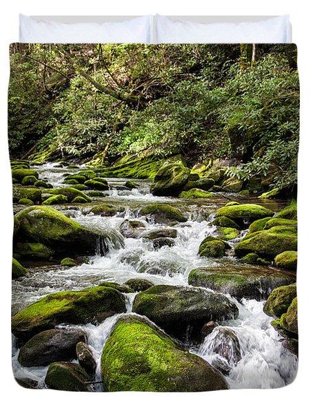 Mossy Creek Duvet Cover