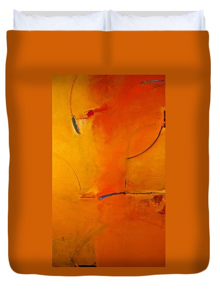 Duvet Cover featuring the painting Most Like Lee by Cliff Spohn