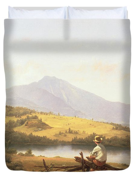 Mount Mansfield Duvet Cover by Jerome Thompson