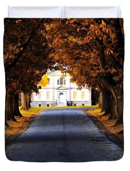 Mount Pleasant Mansion - Philadelphia Duvet Cover by Bill Cannon