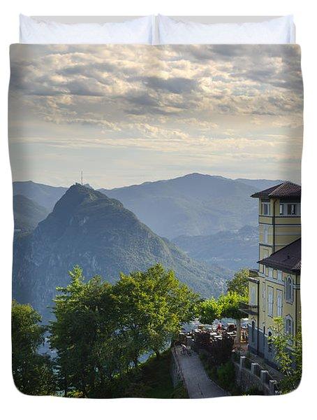 Mountain Bre Duvet Cover