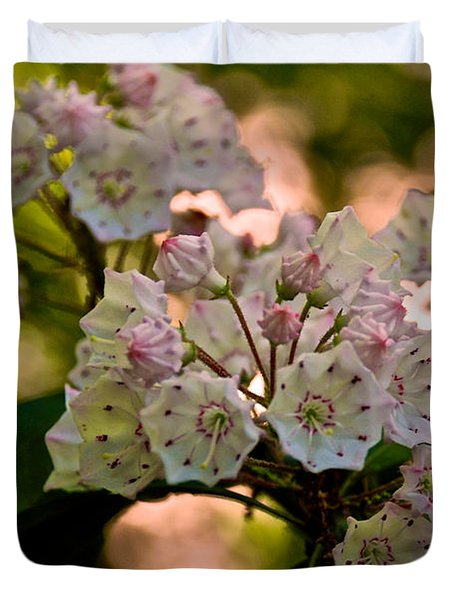 Mountain Laurel Flowers 2 Duvet Cover