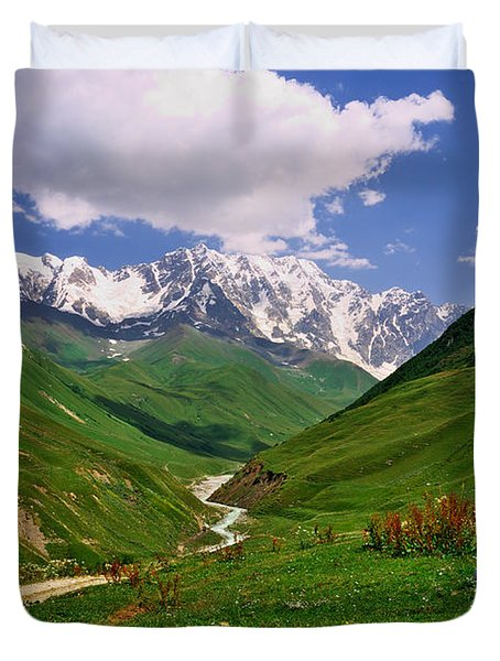 Mountain Valley Duvet Cover