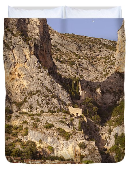 Moustier-sainte-marie Duvet Cover by Brian Jannsen