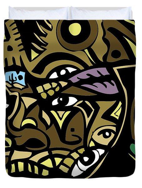 Mr-t-stjgfencil-446-p-picsay Duvet Cover by Kamoni Khem