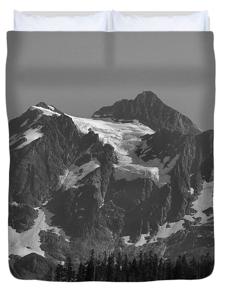 Mt. Shuksan Duvet Cover