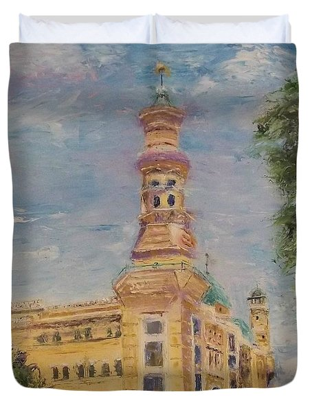 Murat Shrine Temple Duvet Cover