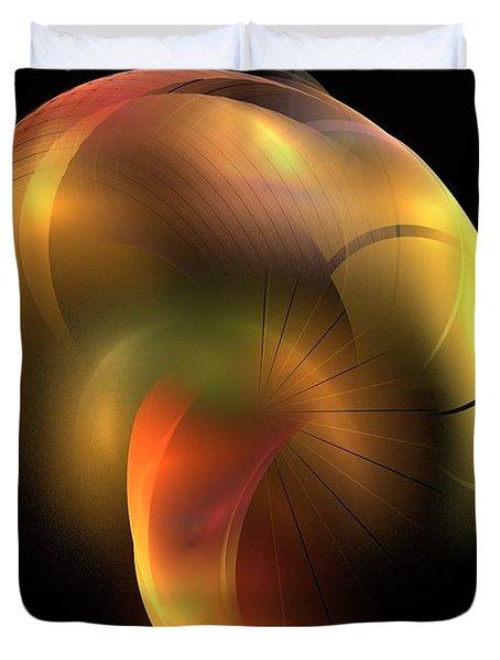 Mushroom Duvet Cover by Kim Sy Ok