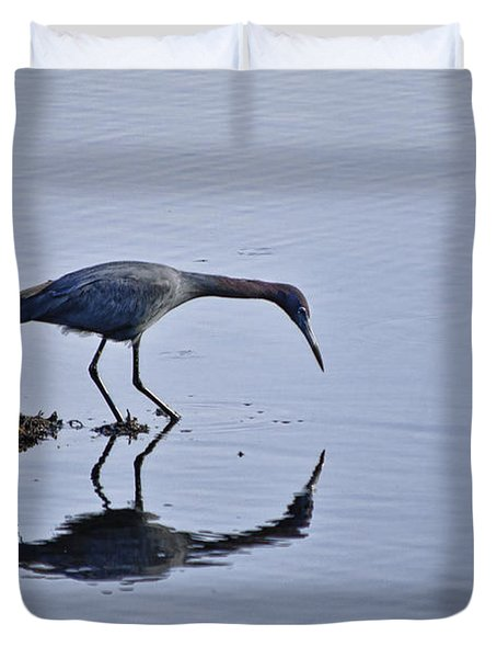 My Blue Reflection Duvet Cover by Diego Re