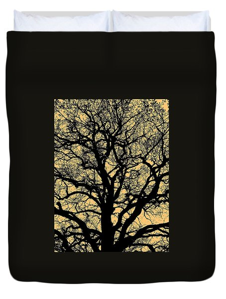 My Friend - The Tree ... Duvet Cover by Juergen Weiss