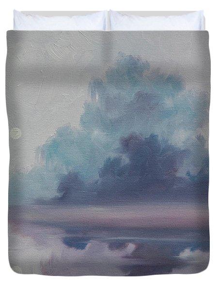 Mystic Moonlight Duvet Cover by James Christopher Hill