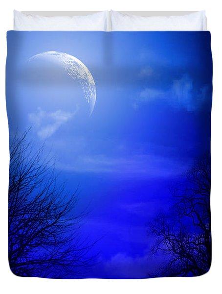 Mystic Night Duvet Cover by Mark Ashkenazi
