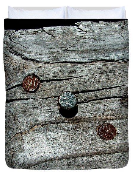 Nails Duvet Cover